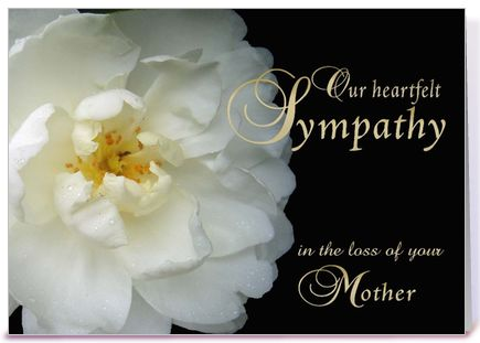 death of mother condolence messages