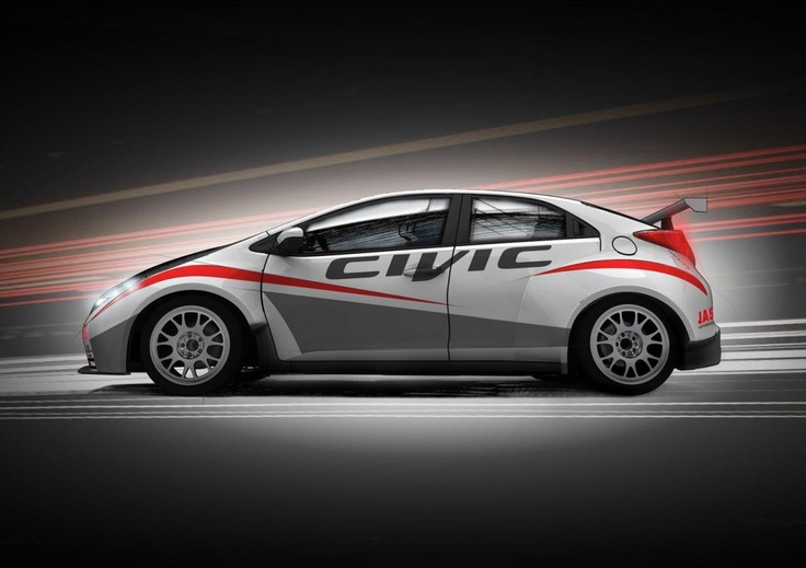 Honda анонсировала Civic для FIA World Touring Car Championship