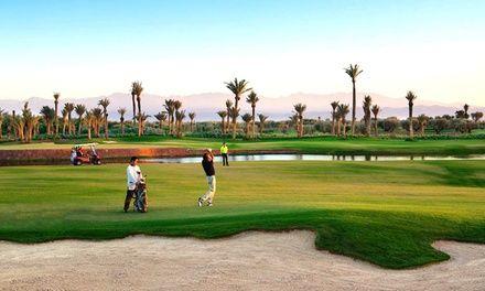 Riad de luxe + Golf fee + transferts à Marrakech : Séjour golfique de prestige à Marrakech: #MARRAKECH En promo à 199.00€ En promotion à…