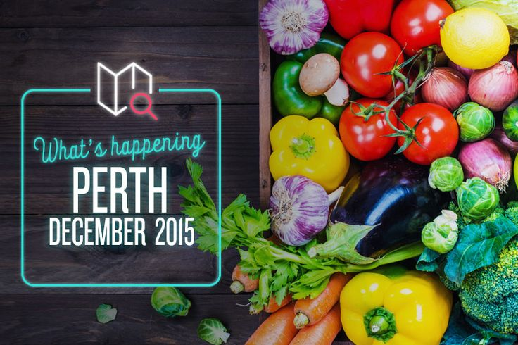 Food, film and fancy-free fun times – it's all happening this December in Perth!