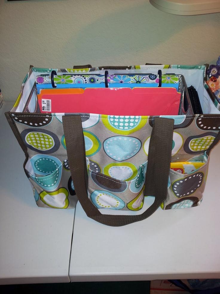 Teacher bag. Also like her teacher binder.