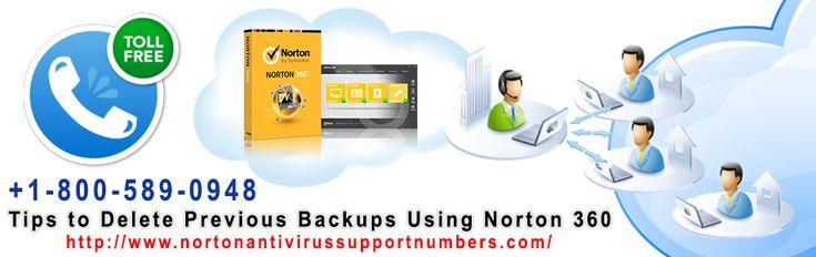 Tips to Delete Previous Backups Using Norton 360