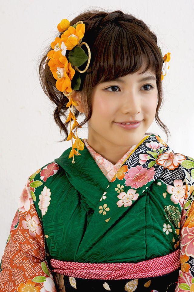 成人式の振袖や卒業式の袴にオススメな髪飾り2点セット