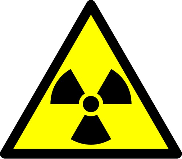 What Is Radioactivity? What is Radiation?: This trefoil is the hazard symbol for radioactive material.
