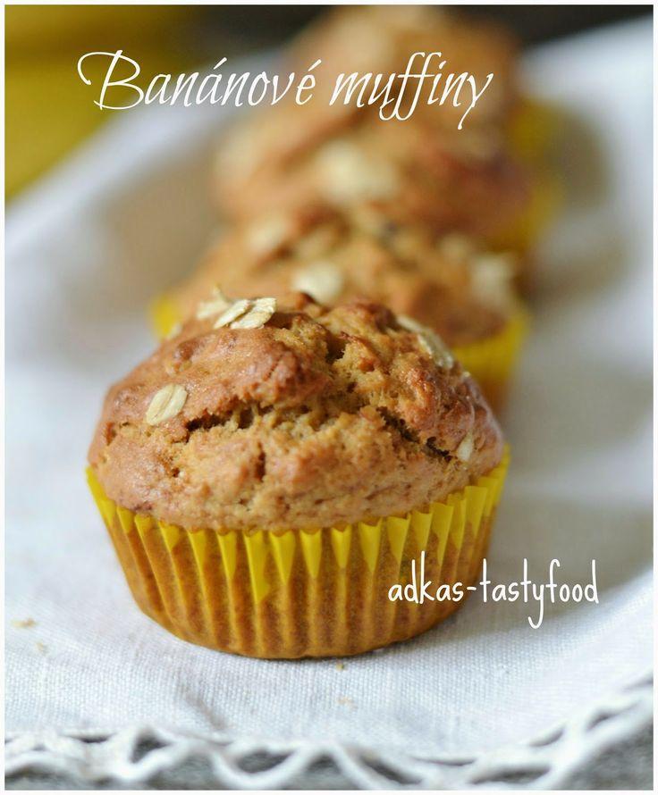 .. chute a vône mojej kuchyne...: Banánové muffiny s ovsenými vločkami