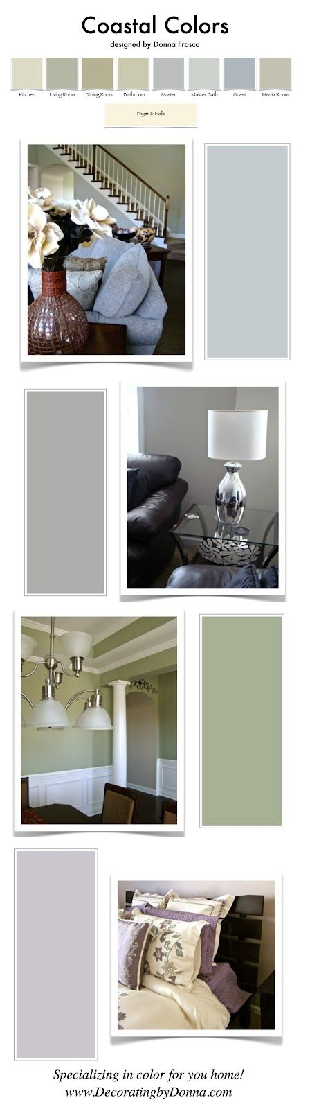 Coastal colors ideas 4 smee maria pinterest popular Sophisticated paint colors for living room