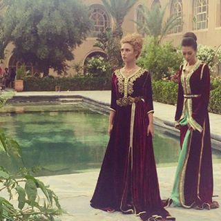 Morning b.people #tbt #caftan #moroccancaftan #queenshehrazad #chama #castle #marrakesh #morocco #proudlymoroccan
