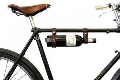 Bicycle Wine Rack by Oopsmark