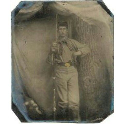 William F. Tilson. This photo depicts William F. Tilson. He was a member of Company E, Second United States Sharpshooters. He was a 5 foot 11 inch tall, 16 year old, when he tried out for the Sharpshooters on November 9, 1861. He was a Vermont farmer whot took pride in his shooting skills. He was accepted into the ranks of Company E, but proved to be a bit of a discipline problem. He first saw action in the brutal Battle of Antietam. He also saw service in the Battles of Chancellorsville and…