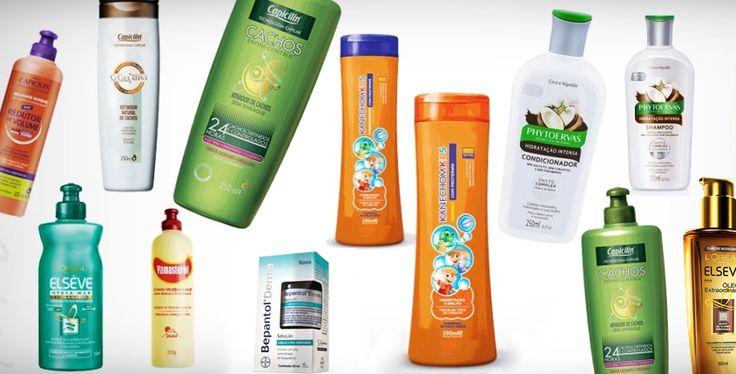 Confira os 13 melhores produtos para cabelos cacheados e crespos. Shampoos, condicionadores, finalizadores e máscaras baratas.
