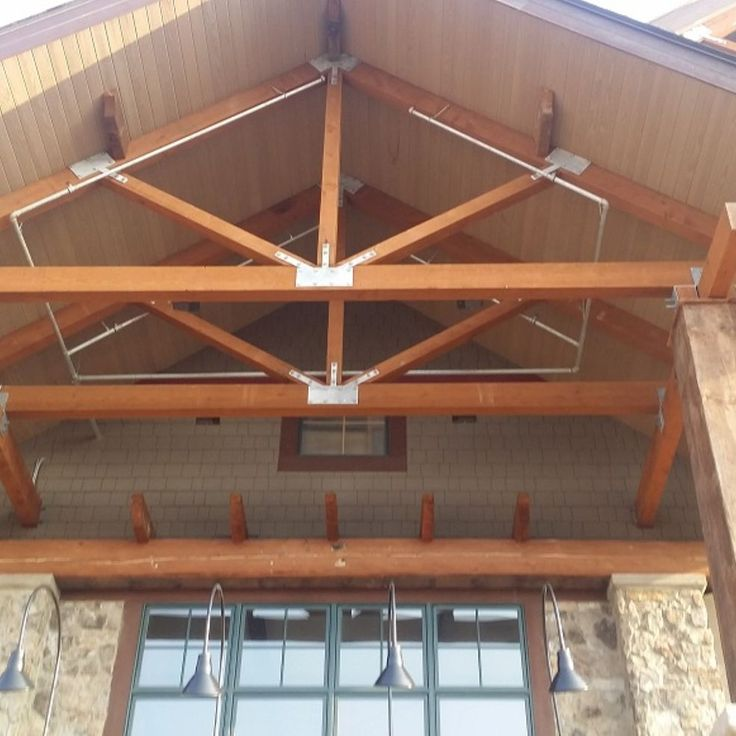 17 best images about timber truss designs on pinterest a for Timber trusses for sale