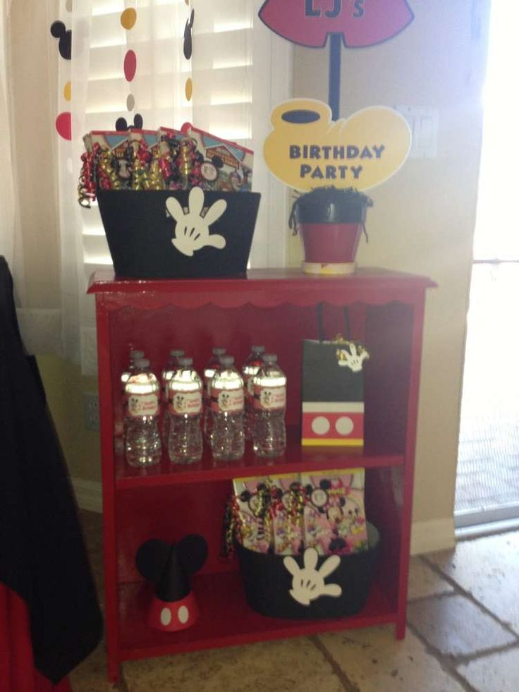 Mickey Mouse Birthday Party Ideas | Photo 7 of 24 | Catch My Party