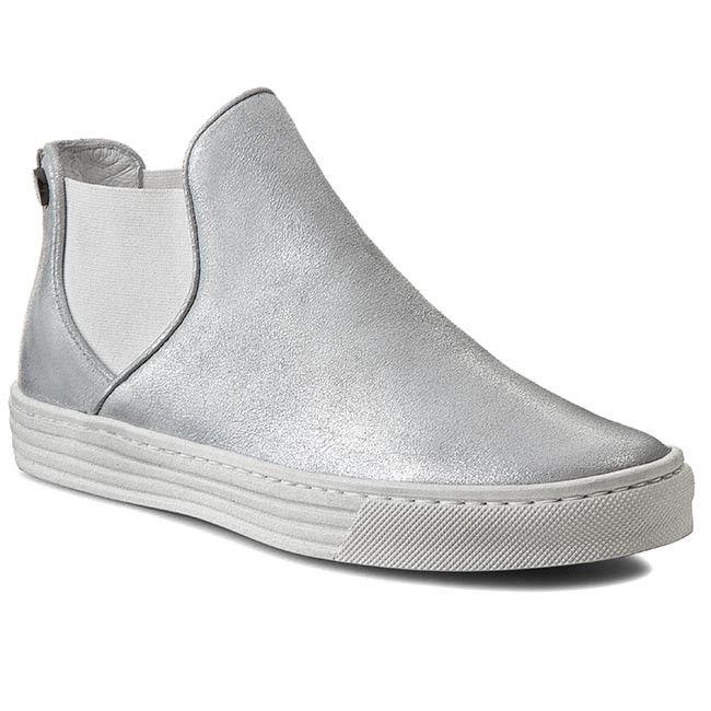 Kotníková obuv s elastickým prvkem CARINII - B2779  Dave Met.Su 665/037