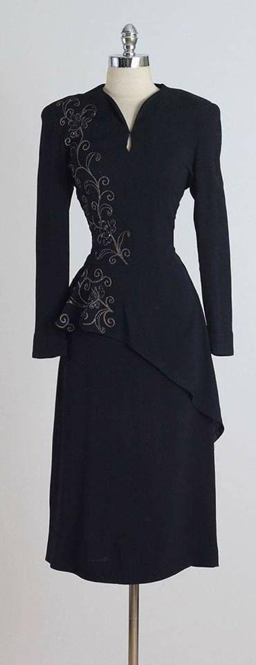 Vintage kleid flieder