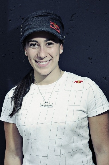 Mariana Pajon. Gold Medal in BMX London 2012.