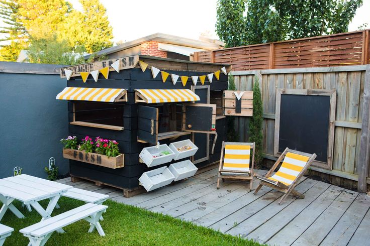 A gallery of our clients cubby houses and play spaces. Be inspired about the styles, colours and accessories you can have to create your play space