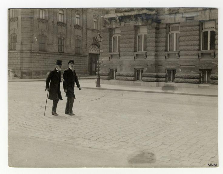 Andrássy Gyula és Apponyi Albert távozik a kormányátalakítással kapcsolatos királyi kihallgatásról, 1917. június 8. Tiszát mindenekelőtt a vele szembehelyezkedő főúri körök buktatták meg. A kialakuló patthelyzetben utódja a tapasztalatlan Esterházy Móric lett, de ő csak két hónapig bírta, őt a vén politikai rókának számító Wekerle Sándor váltotta. A  magyar politika a háborús évekkel csak egyre széthúzóbb lett, tele belpolitikai illúziókkal és külpolitikai vaksággal.
