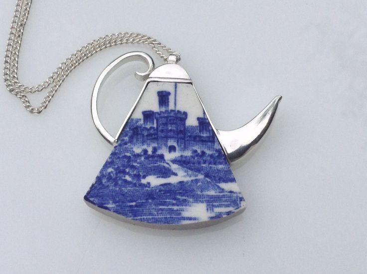 Ceramic kettle pendant