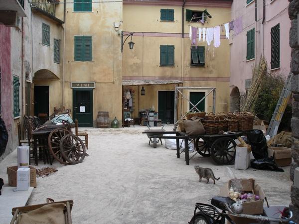Backstage piazza Vitt.Veneto