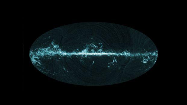 Los ecos del Big Bang, en una imagen del Observatorio Planck