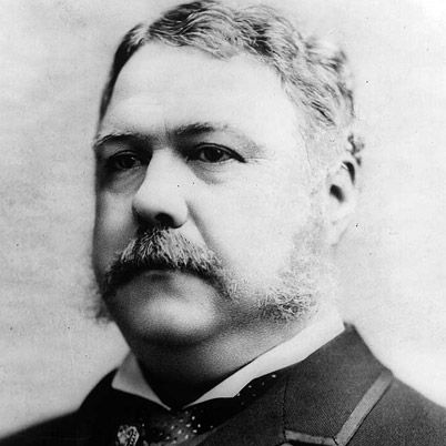 NAME: Chester Alan Arthur  OCCUPATION: Lawyer, U.S. President, U.S. Vice President  BIRTH DATE: October 05, 1829  DEATH DATE: November 18, 1886  EDUCATION: Union College  more about Chester  BEST KNOWN FOR    Chester A. Arthur was 21st president of the United States. Vice president at the time, he acceded to the presidency when President Garfield was assassinated.