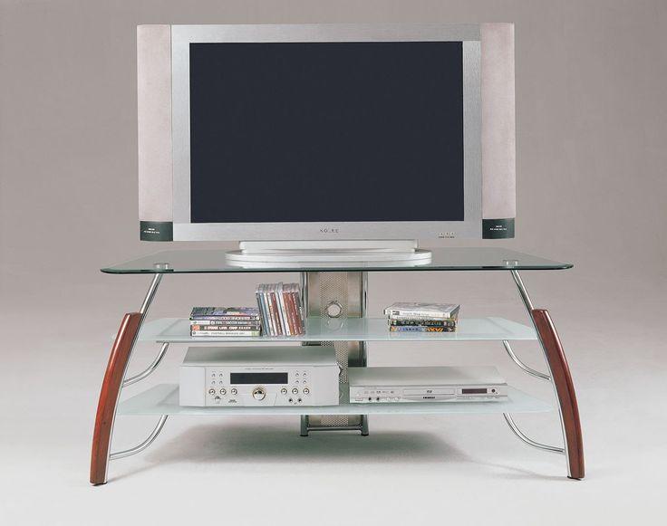 martini brown cherry tv stand
