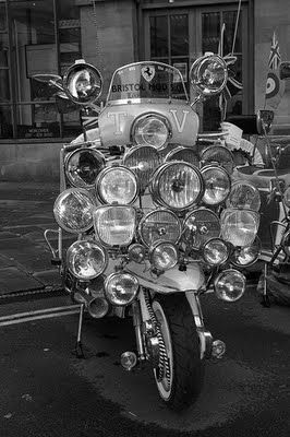 Lambretta - anyone got an extension lead?