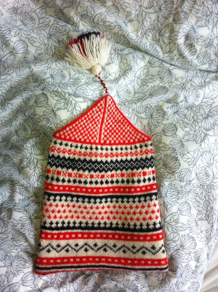 Bingemossa. Knitting tradition from Halland, Sweden.