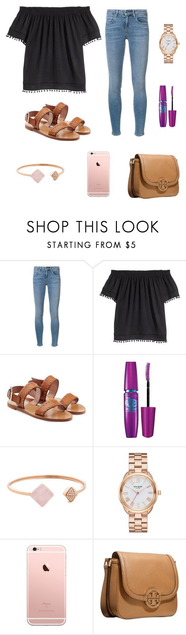❣️ by vec2002 ❤ liked on Polyvore featuring Alexander Wang, HM, RED Valentino, Maybelline, Michael Kors, Kate Spade and Tory Burch
