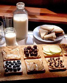 Peanut Butter Sandwiches - Martha Stewart Food