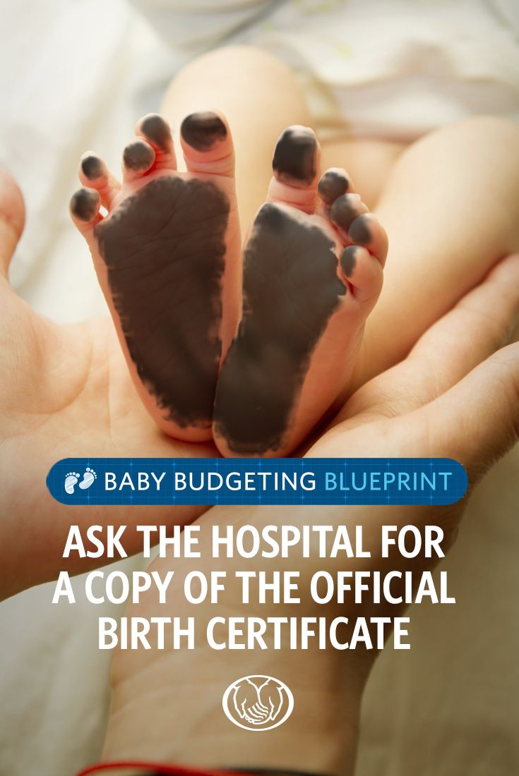 In many states, hospitals won't provide a copy of the official birth certificate unless you request one. Our printable baby paperwork guide can help you keep track of all the forms and documents for your new baby before they're born, at the hospital and after they get home.