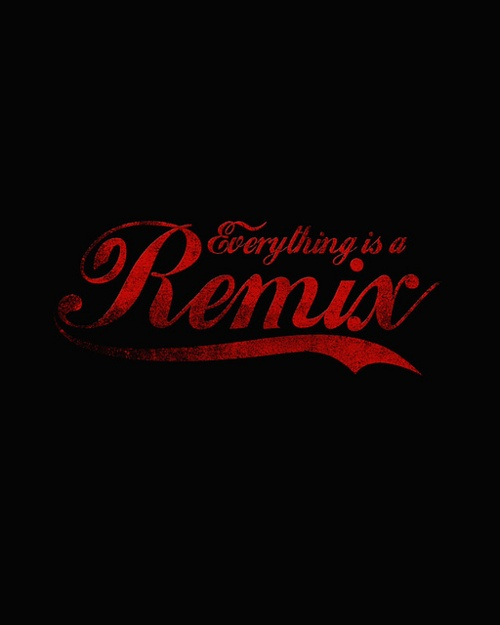 Everything is a Remix by nicebleed on Flickr.