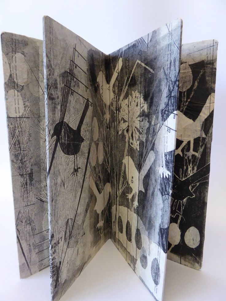 Many of my prints end up in a book form, I find it gives the prints a fresh new viewpoint, often just a micro-view of only part of the print. One of the issues of the printing technique of...