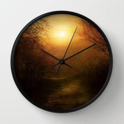 April Ethereal Wall Clock by Viviana Gonzalez - $30.00