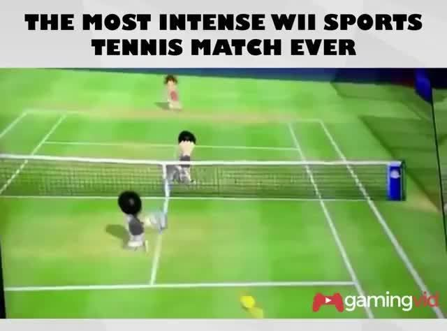 Tennis Extreme Sports Extreme Wii Sports Wii Ifunny Wii Sports Action Sports Photography Tennis Funny