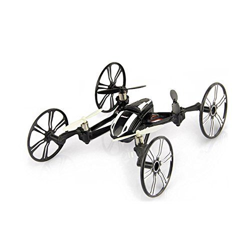 Babrit Elite 6-Axis Gyro RC Quadcopter 2.4Ghz 4-in-1 RC Drone Quadcopter RC Flying Car Remote Control Drone with HD Camera - Black - http://www.midronepro.com/producto/babrit-elite-6-axis-gyro-rc-quadcopter-2-4ghz-4-in-1-rc-drone-quadcopter-rc-flying-car-remote-control-drone-with-hd-camera-black/