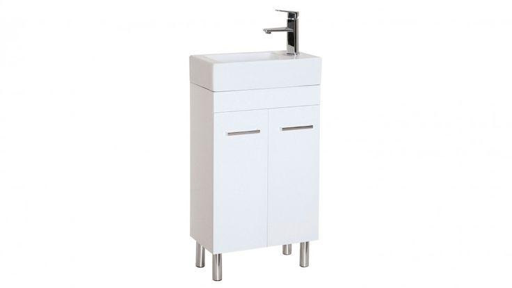 Cartia Mini Me 450mm Solid Door Cabinet Vanities Basins Bathroom Tiles Renovations