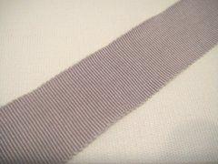 Petersham Ribbon - Grey