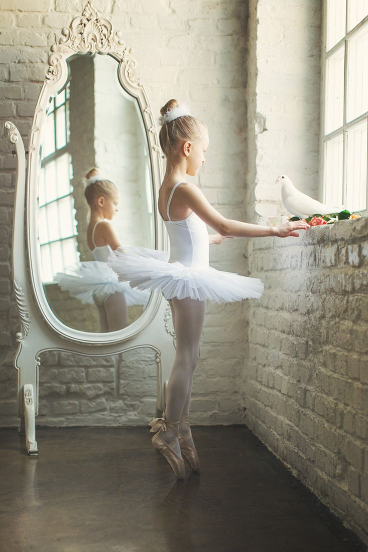 That girl is too young to be on pointe. I get my pointe shoes at ten. She's like fresh out of the mother fucking womb