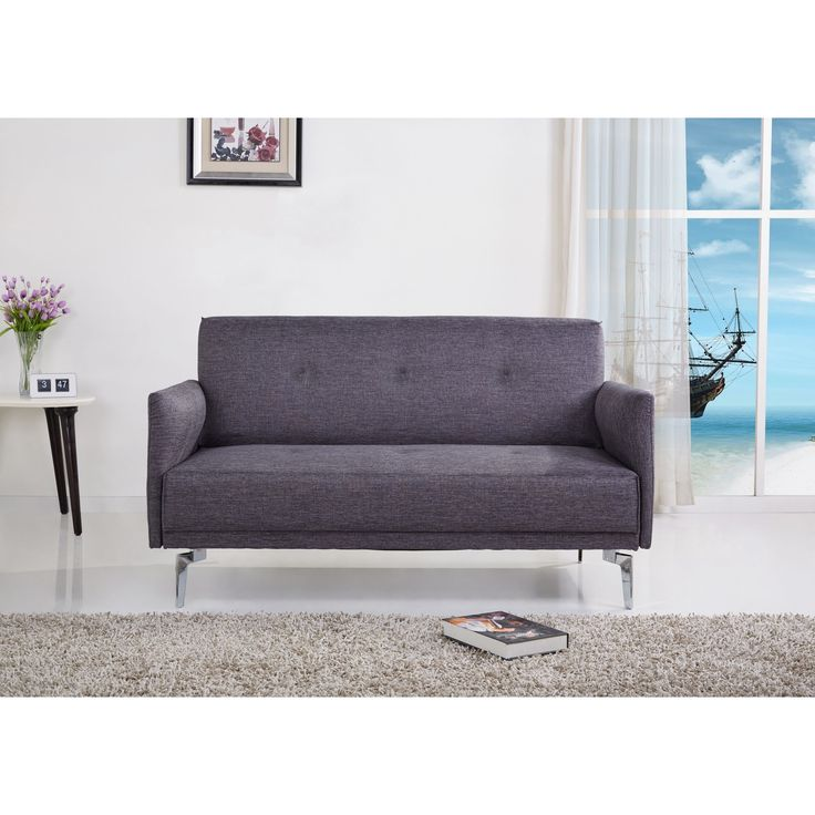 Emma fabric modern loveseat by us pride furniture for Modern furniture deals