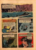 JULES VERNE,LA ASTRONOMIA Y LA LITERATURA: Comics de Veinte mil leguas de Vieje Submarino