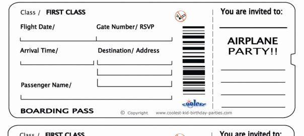 Plane Ticket Template Pdf Inspirational Free Printable Airline Ticket In 2021 Airline Tickets Plane Tickets Fake Plane Ticket