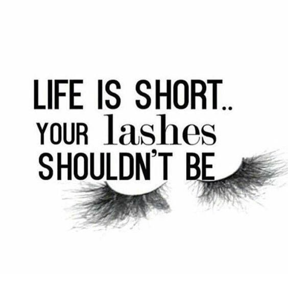 Because #lashes are life. So put that #mascara or glue that extension queens. Slay this weekend. #makeupquotes http://ift.tt/2fzO43F