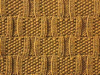 Bracket Stitch - knit/purl stitch #knit