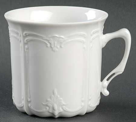 Tirschenreuth Baronesse White Mug