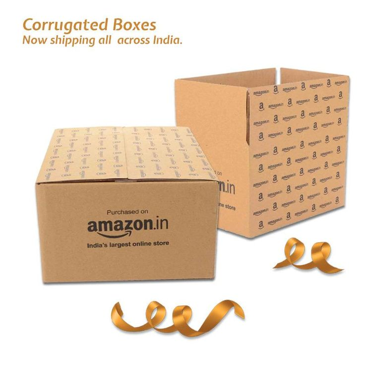 Buy Amazon Branded Corrugated Box Online in India. Free Shipping, Easy Returns. Cash on Delivery!