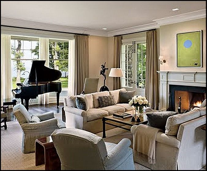 14 best grand piano dream images on pinterest living for Piano placement in home