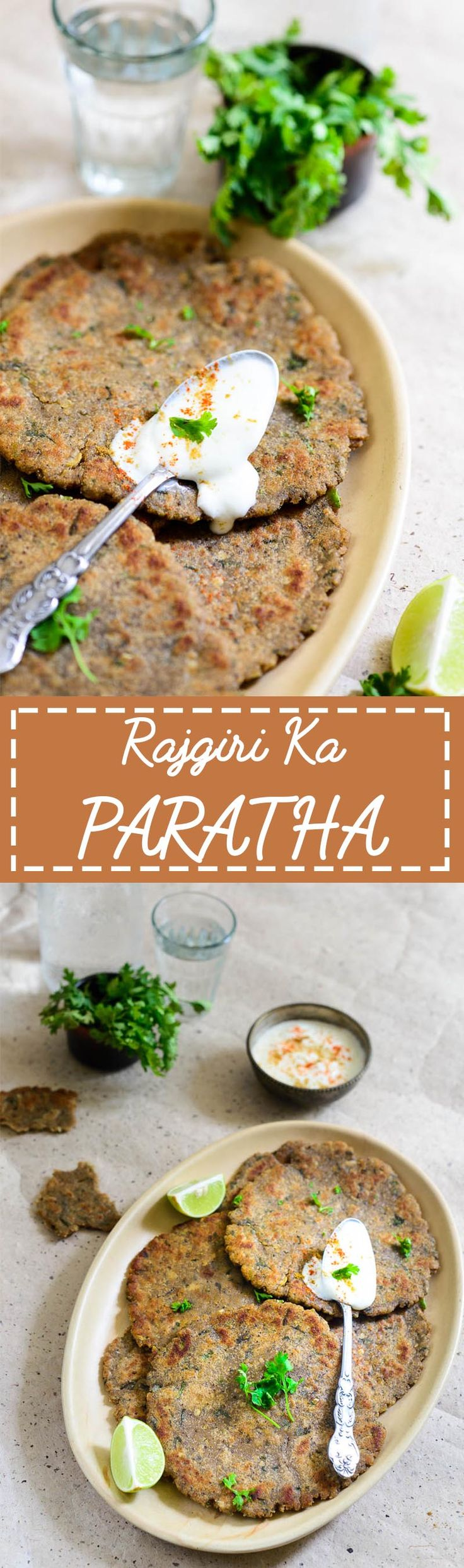 Rajgiri Ka Paratha. Gluten free flat bread made using Amaranth flour. this can be eaten as falahar for Indian vrat as well. Food photography and Styling by Neha Mathur.
