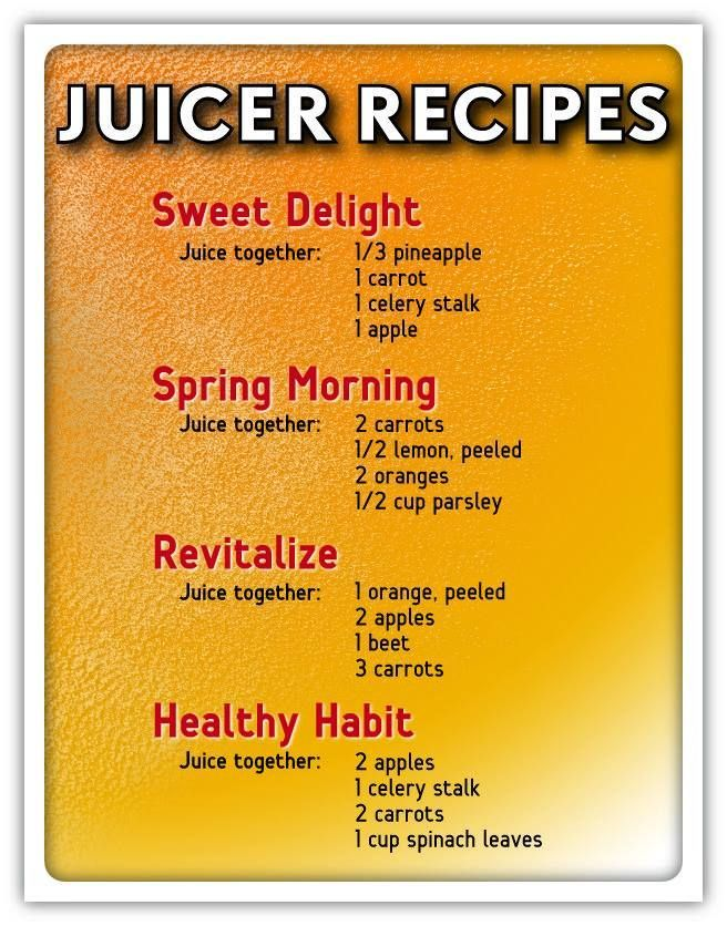 Just bought a juicer?  Here are some great recipes which you can try for those juicer beginners! SHARE this to a friend too