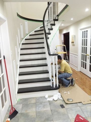 we are where best flooring service meets best price in hardwood and laminate installation and stairs capping and renovations. service areas: gta and beyond. services: • hardwood, laminate, engineered wood installation • baseboard and quarter round installation • hardwood stairs capping • staircase picket, post, handrail and stringer best references labour warranty weekend servi